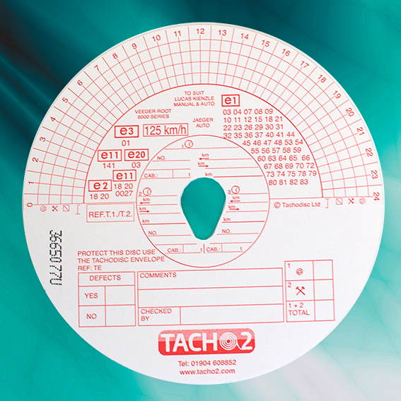 Tachograph analogue charts t1t2 125kph red combi tachograph supplies tachograph analogue charts ccuart Choice Image
